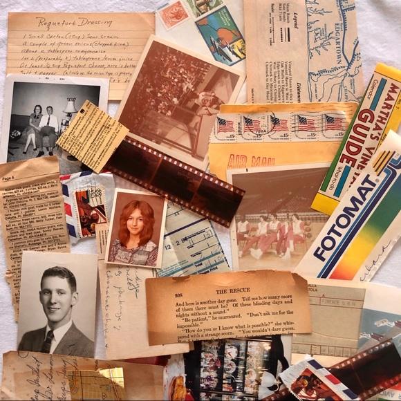 50 Piece Assorted Vintage Paper Ephemera